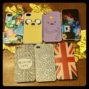 Lot of phone cases for iPhone 4S